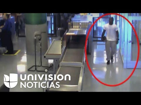 ¿Cómo este hombre logró burlar los controles de seguridad en un aeropuerto?
