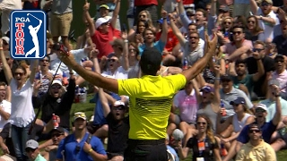 Jason Day's incredible 60-foot birdie putt at AT&T Byron Nelson