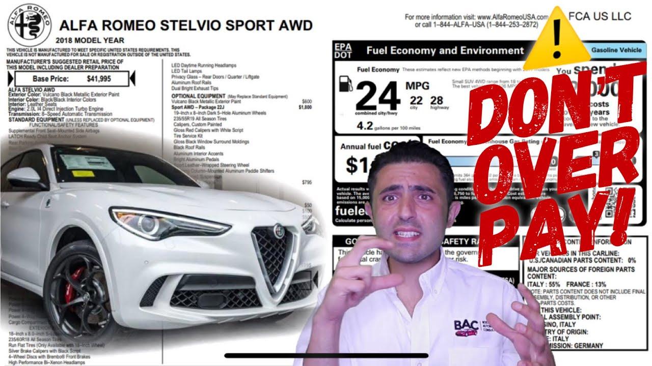 Alfa Romeo Stelvio Lease Purchase Tricks Watch Before You Buy