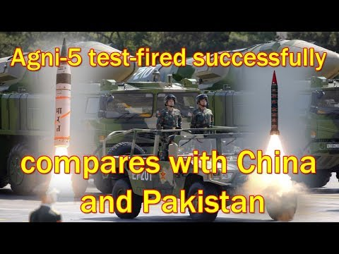 How India compares with China and Pakistan in missile strength - 동영상