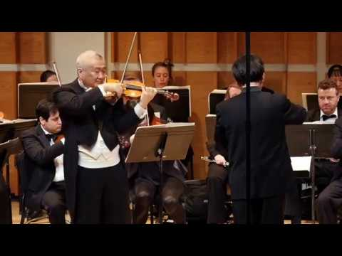 Chin Kim violin, Ureuk symphony Christopher Lee Cond NYc