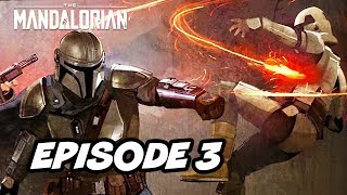 Star Wars The Mandalorian Episode 3 - TOP 10 WTF and Easter Eggs