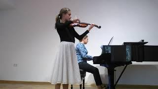 Małgorzata Kubów, violin, VI Rome International Music Competition cat. B