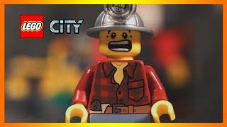 Конструктор Лего Сити шахта - беспредел на прииске (Lego City - Лего Город)