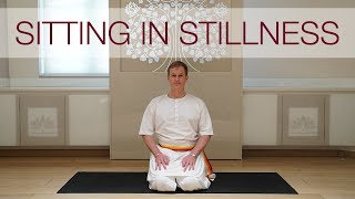 Sitting in Stillness