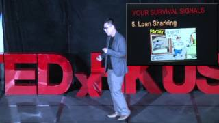 Trust Your Intuition: Your Survival Signal | Oliver Chan | TEDxHKUST