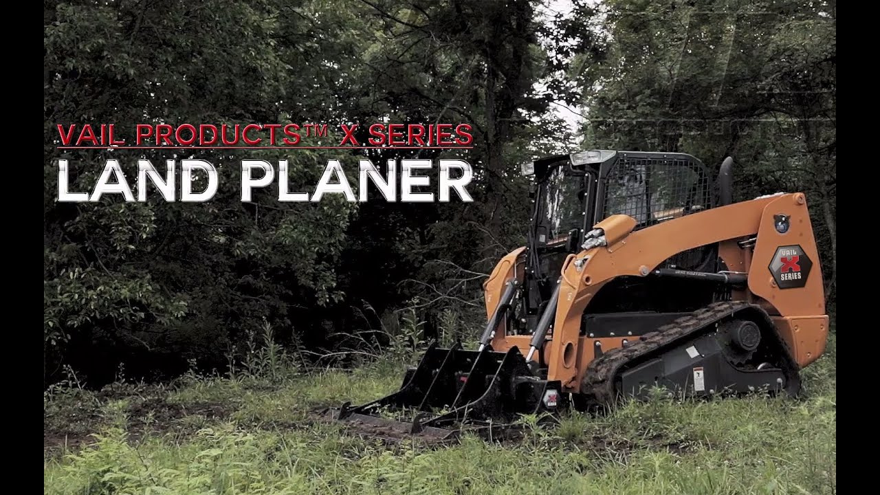 Vail Products 174 X Series Attachments Land Planer Hd Youtube