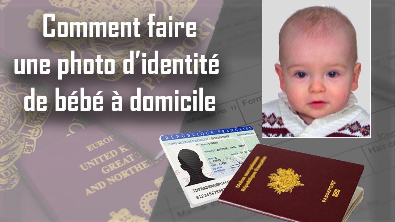 carte d identite bebe 🚼 Comment faire une photo d'identité de bébé à domicile   YouTube