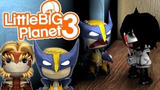 GO TO SLEEP! | Little Big Planet 3 Multiplayer (42) Jeff The Killer