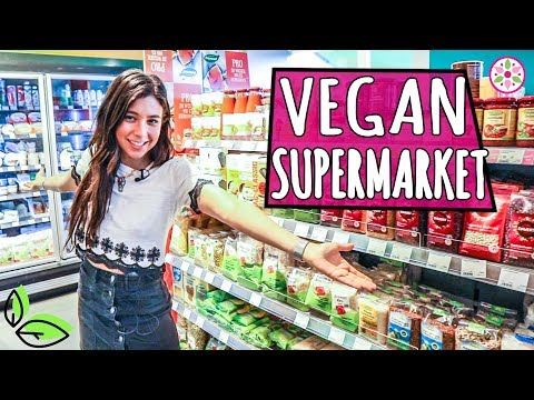 VEGAN SUPERMARKET IN BERLIN! 🛒Yovana