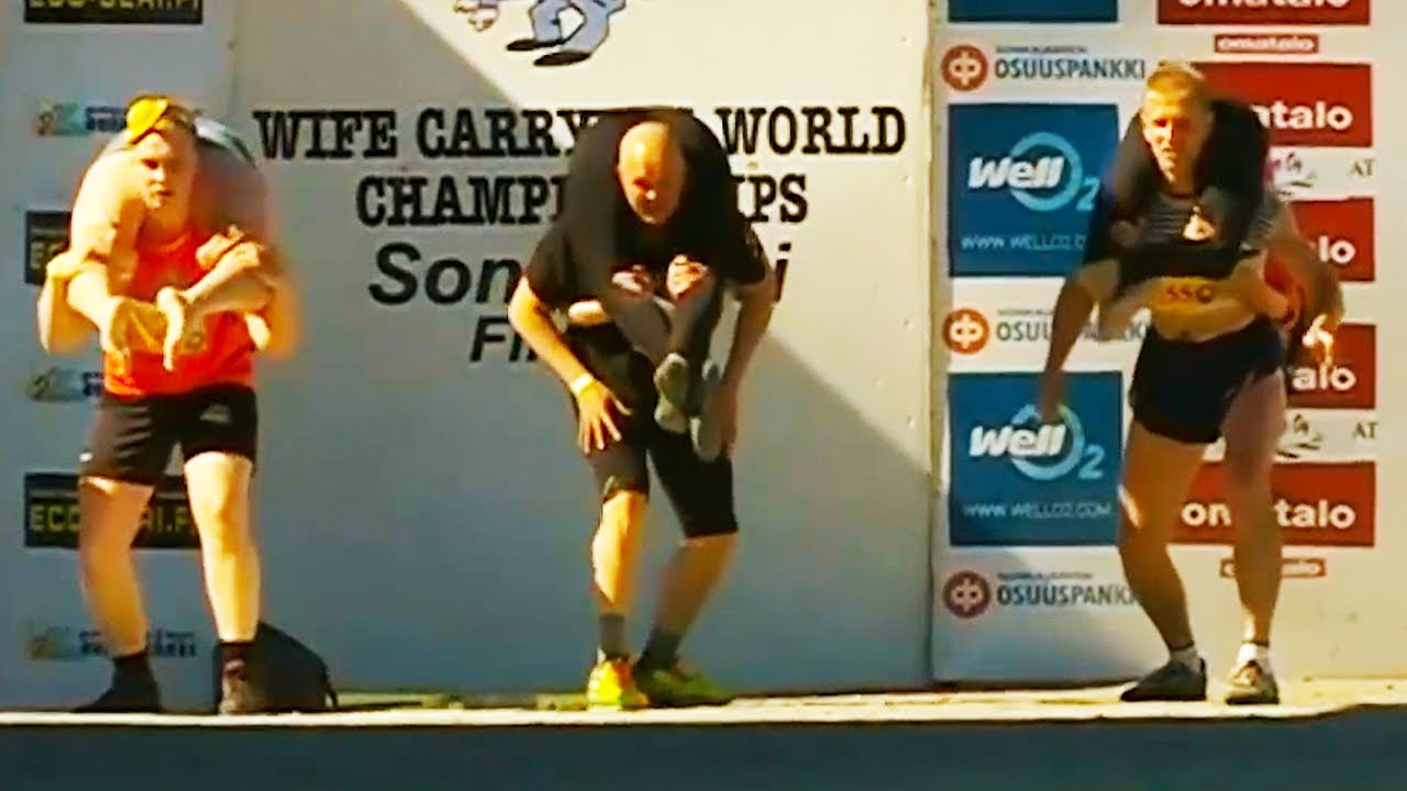 Ozzy Man Reviews: Wife Carrying Championship