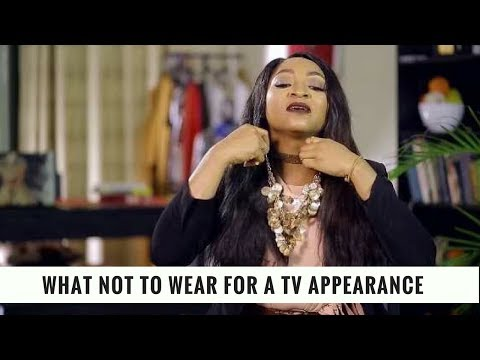What Not to Wear for a TV Appearance