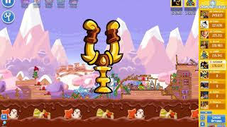 Angry Birds Friends/ SantaCoal i CandyClaus tournament, week 294/1, level 2
