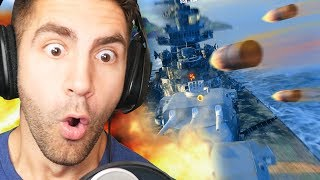 EXPLODING BATTLESHIPS! - World of Warships Gameplay | Pungence
