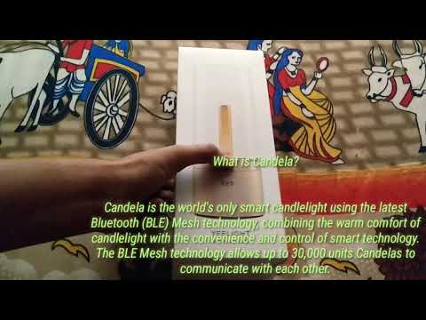 Xiaomi Yeelight Candela Ambience Table Lamp Unboxing & Review | MI LED Candle Smart Light