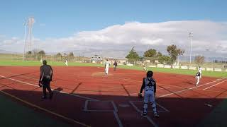 Kali Baseball 13U 2018 vs Monterey Bay Pirates-Pool play #3