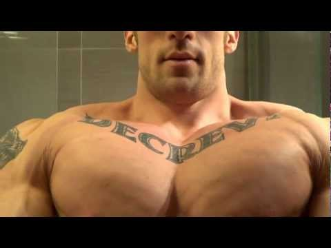 Ripped Muscle Giant Alex Rem-Road to Competitions