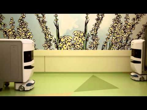 TUG autonomous mobile robot in hospitals, Aethon Inc.