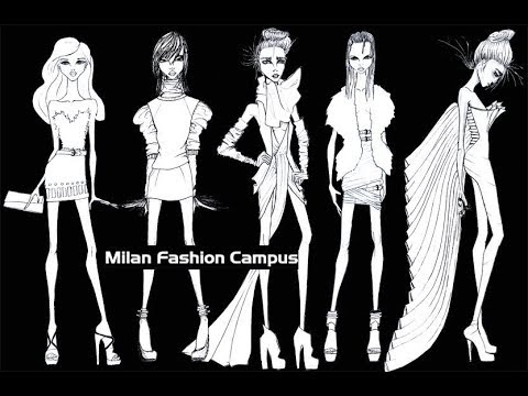 Fashion Figure Croquis Design Templates Ready For Download