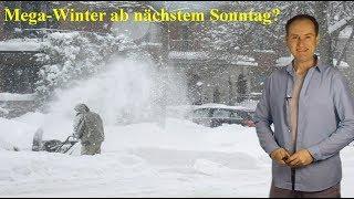 Russenpeitsche und Schneewalze für alle? Auf den Wetterkarten wird es spannend! (Mod.: Dominik Jung)