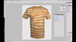Tutorial: How to use Simplified T-Shirt Templates for Photoshop and Illustrator