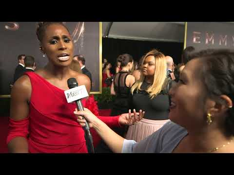 Issa Rae - 'I'm rooting for everybody black' - Full Emmys Red Carpet interview