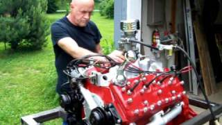 Flathead Engine Test Run