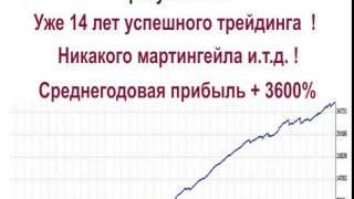 бесплатный форекс тестер(Уникальный Форекс советник, уже 14 лет успешного трейдинга, бесплатно скачай и протестируй в своем Meta Trader,..., 2014-12-31T16:07:48.000Z)