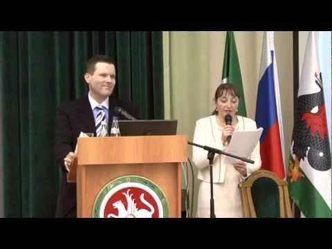 Dan Swanson in Russia - World Economic Conference,  2010