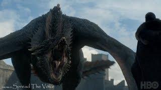 Игра Престолов 7х5 Сцена с драконом (Комментарии актёров)