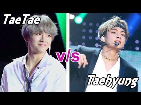 BTS TAETAE VS TAEHYUNG