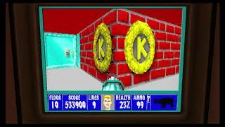 Wolfenstein 3D Episode 5 Secret Floor 10