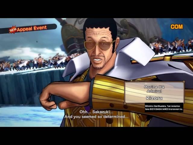 One Piece Burning Blood - Découverte