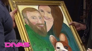 Natalya gives Brie Bella and Daniel Bryan their wedding gift: Total Divas, May 11, 2014
