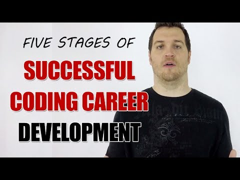 5 Stages of Coding Career Development