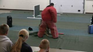 Rcpd K-9 Unit Demonstration - Rapid City, Sd