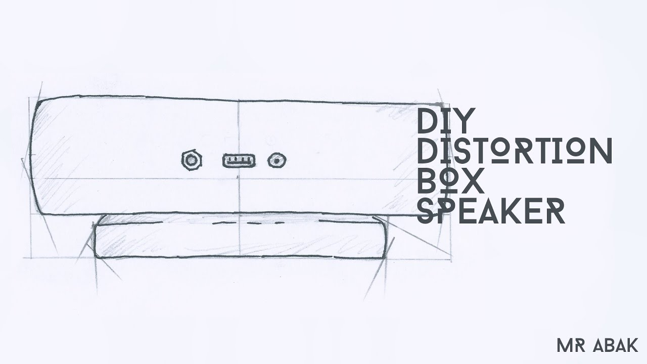 make your own distortion box speaker from pvc pipe lm386 2x3w speaker [ 1280 x 720 Pixel ]