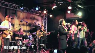 Etana & Dub Akom - Intro/ Jah Chariot in Paris, France @ New Morning 11/18/2011
