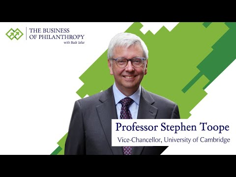 Professor Stephen Toope; A Conversation with Badr Jafar