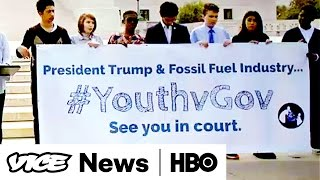 Kids Sue the Feds & Budget Bill  VICE News Tonight Full Episode (HBO)