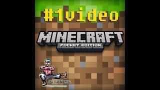 Jogando Minecraft Poket Edition