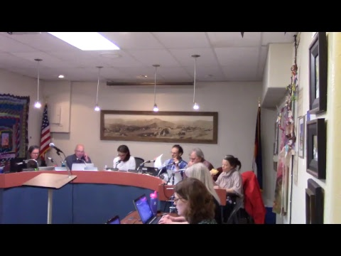 April 2 2018 Board of Trustee Meeting