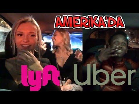 Amerikalı Kızlar ve Enteresan Yolculuklar -  Amerika'da UBER Yapmak