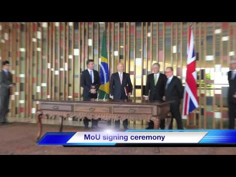 Foreign Secretary William Hague visits Brazil