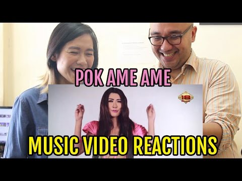 Mechalika - Pok Ame Ame (Music Video Reactions - Dangdut)