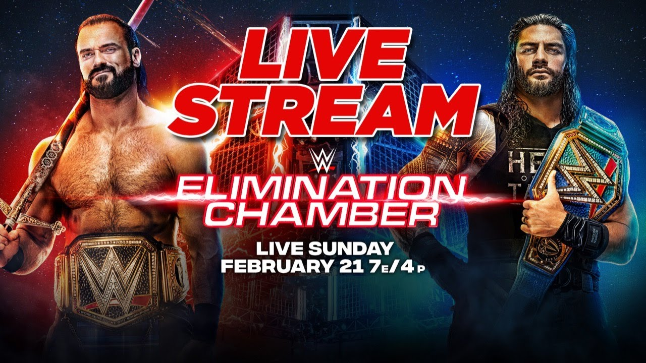 Image result for WWE Elimination Chamber 2021 Live Stream