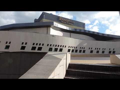 Светлогорск Театр эстрады «Янтарь-Холл» и его окрестности – 6 августа 2018