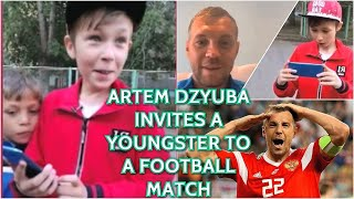 WOW! Russian Boy Gets An Amazing Surprise After His Charity Work After Call Form Top Football Player