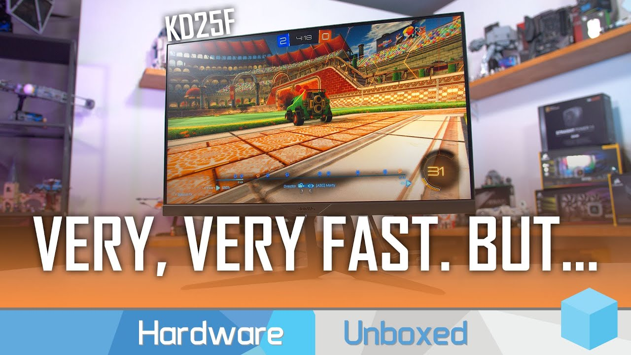 Gigabyte KD25F Review, Can it Really Do 0 5ms Response Times?