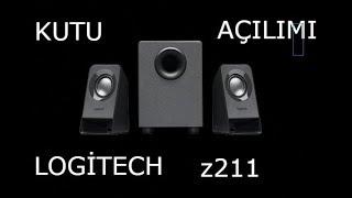 Logitech z211 2+1Hopörlör Kutu açılımı (Ses aç)